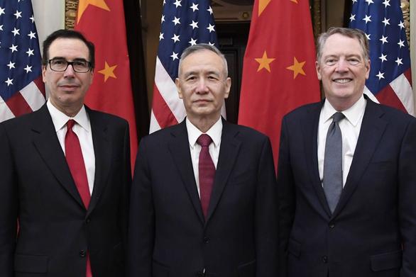 Chưa gặp đoàn đàm phán Mỹ, đoàn Trung Quốc đã muốn về nước sớm - Ảnh 1.
