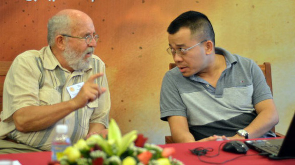 GS đoạt Nobel Vật lý 2019 từng đến Việt Nam, giao lưu với bạn đọc Tuổi Trẻ - Ảnh 5.