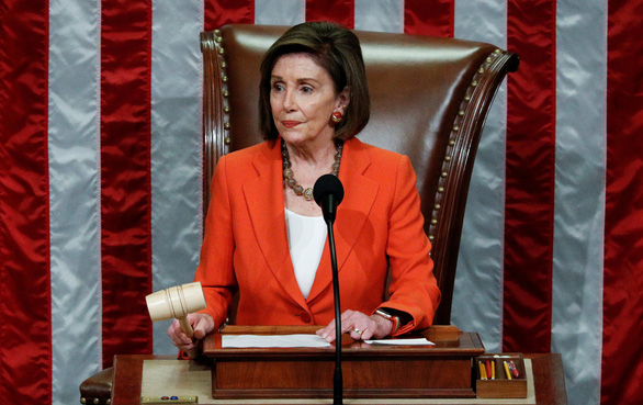 Hạ viện Mỹ thông qua nghị quyết điều tra luận tội ông Trump - Ảnh 1.