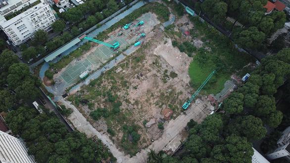 Rao bán đất nền nhà thi đấu Phan Đình Phùng để dụ khách hàng - Ảnh 1.