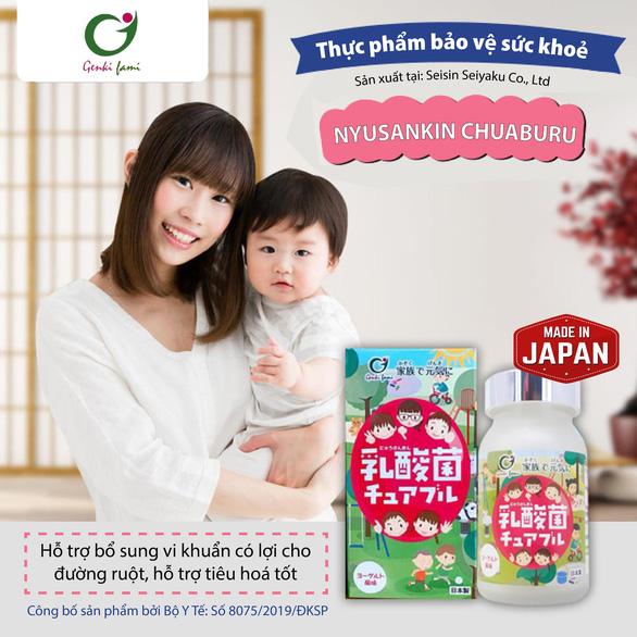 Nyusankin Chuaburu Nhật Bản - cuộc cách mạng giải quyết bệnh đường tiêu hóa - Ảnh 1.