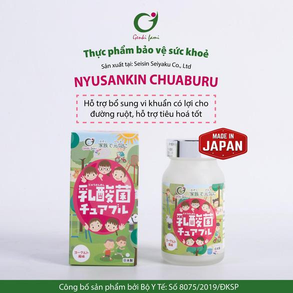 Nyusankin Chuaburu Nhật Bản - cuộc cách mạng giải quyết bệnh đường tiêu hóa - Ảnh 2.