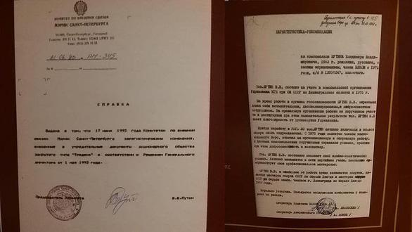 Giải mật hồ sơ điệp viên ông Putin thời làm cho KGB - Ảnh 1.