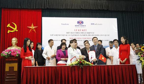 Hợp tác với Hàn Quốc mở trung tâm điều trị ung thư tiêu chuẩn quốc tế - Ảnh 1.