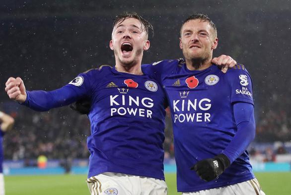 Leicester nhấn chìm Arsenal nhờ Vardy - Ảnh 2.