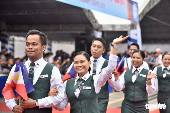 Đại biểu SSEAYP xin chào Việt Nam - Ảnh 7.