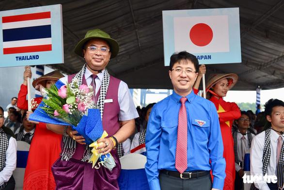 Đại biểu SSEAYP xin chào Việt Nam - Ảnh 11.