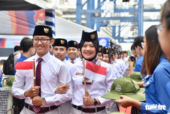 Đại biểu SSEAYP xin chào Việt Nam - Ảnh 9.