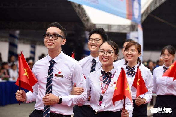 Đại biểu SSEAYP xin chào Việt Nam - Ảnh 3.