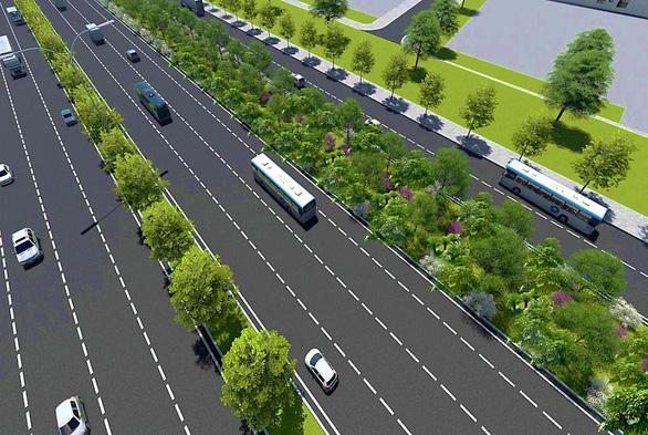 Tuyến metro số 1 sẽ được phủ xanh dọc chiều dài 14,7km - Ảnh 3.