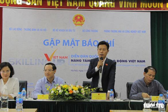 Lần đầu tiên Chính phủ chủ trì diễn đàn về kỹ năng lao động, giáo dục nghề nghiệp - Ảnh 1.