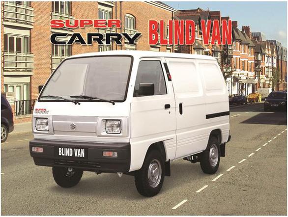 Suzuki Super Carry Blind Van - 'Nhỏ mà có võ: nay được lưu thông nội đô 24/24 - Ảnh 3.