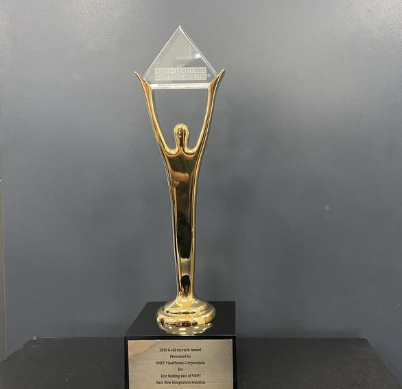 Tiên phong Trục liên thông văn bản quốc gia, VNPT giành giải Vàng quốc tế - Ảnh 1.