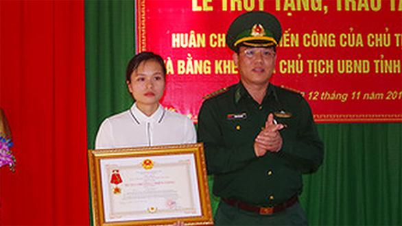 Truy tặng Huân chương chiến công hạng nhất cho thiếu tá đánh án ma túy hi sinh - Ảnh 1.