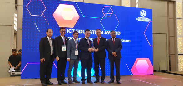 Trường duy nhất của Việt Nam đạt giải thưởng công nghệ thông tin uy tín  - Ảnh 1.