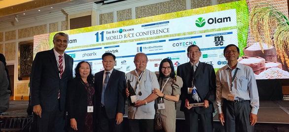 Lần đầu tiên Việt Nam đoạt giải gạo ngon nhất thế giới - Ảnh 1.
