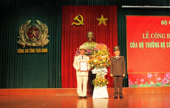 Phó cục trưởng Cảnh sát quản lý trại giam làm giám đốc Công an Thái Bình - Ảnh 1.