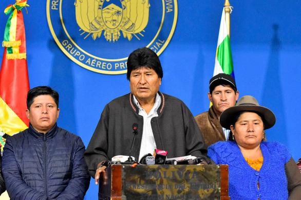 Cựu tổng thống Bolivia xin tị nạn chính trị ở Mexico - Ảnh 1.
