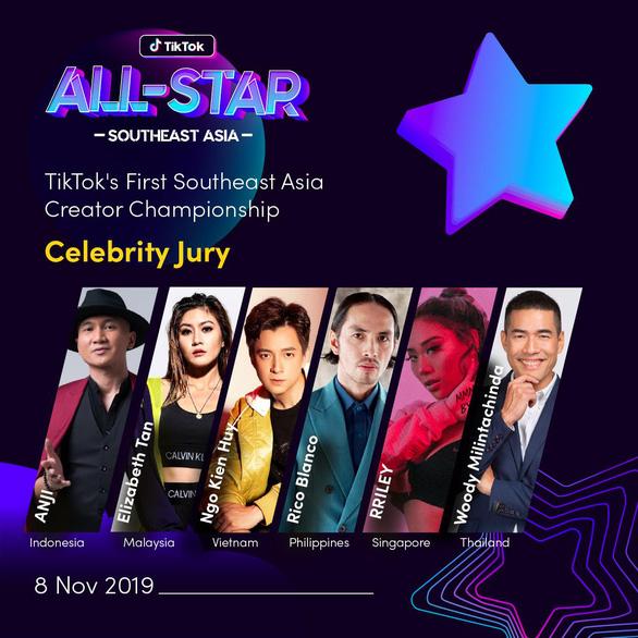 Ngô Kiến Huy làm giám khảo cuộc thi Ngôi sao Đông Nam Á 2019 - Ảnh 2.