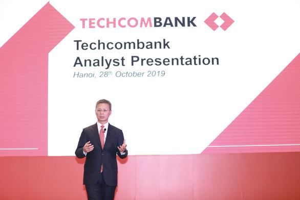 Techcombank tin chắc sẽ vượt mọi chỉ tiêu kinh doanh năm - Ảnh 1.