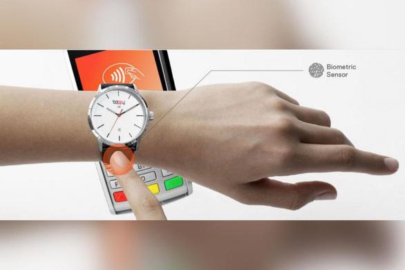 Chỉ cần đeo đồng hồ vẫn có thể tính tiền  - Ảnh 1.