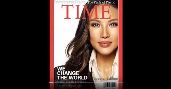 Phó trợ lý ngoại trưởng Mỹ bị cáo buộc chế ảnh bìa tạp chí Time làm đẹp lý lịch - Ảnh 1.