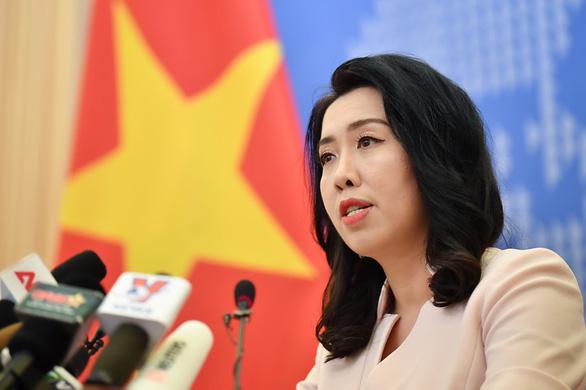 Về vụ tàu Hải Dương 9 của Trung Quốc, Việt Nam theo dõi sát tình hình - Ảnh 1.