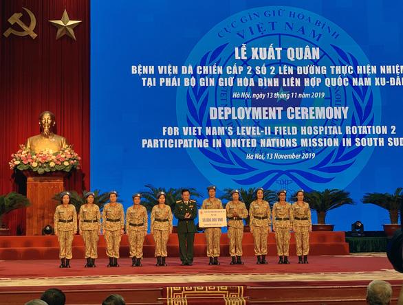 Thêm 63 quân nhân làm nhiệm vụ gìn giữ hòa bình tại Nam Sudan - Ảnh 2.
