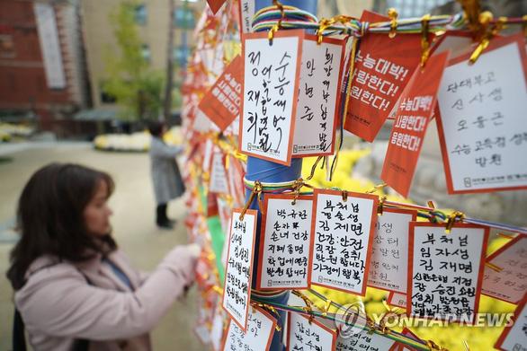 Hàn Quốc im ắng chờ nửa triệu học sinh thi đại học - Ảnh 8.