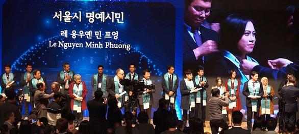 Người Việt đầu tiên được vinh danh Công dân danh dự Seoul là người Đà Nẵng - Ảnh 1.