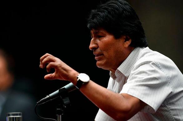 Cựu tổng thống Bolivia nói sẵn sàng quay về nếu được dân yêu cầu - Ảnh 1.