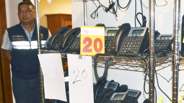 Sau Thái tới Philippines bắt 36 người Nhật nghi lừa đảo qua điện thoại - Ảnh 1.
