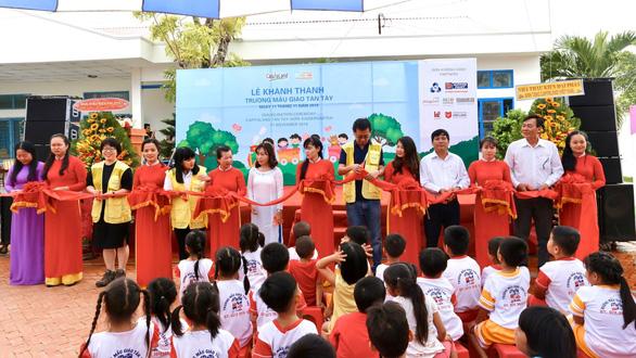 Khánh thành trường mẫu giáo CapitaLand Hope thứ 2 ở Việt Nam - Ảnh 1.