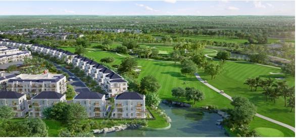 Sắp ra mắt quần thể biệt thự nghỉ dưỡng sân golf tại Tây Sài Gòn - Ảnh 1.