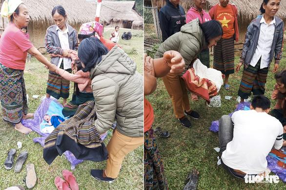 Bé trai 3kg bụ bẫm chào đời bên đường trong vòng tay các cô giáo - Ảnh 3.