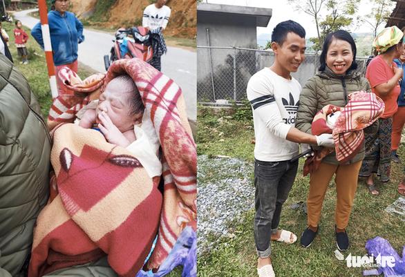Bé trai 3kg bụ bẫm chào đời bên đường trong vòng tay các cô giáo - Ảnh 5.