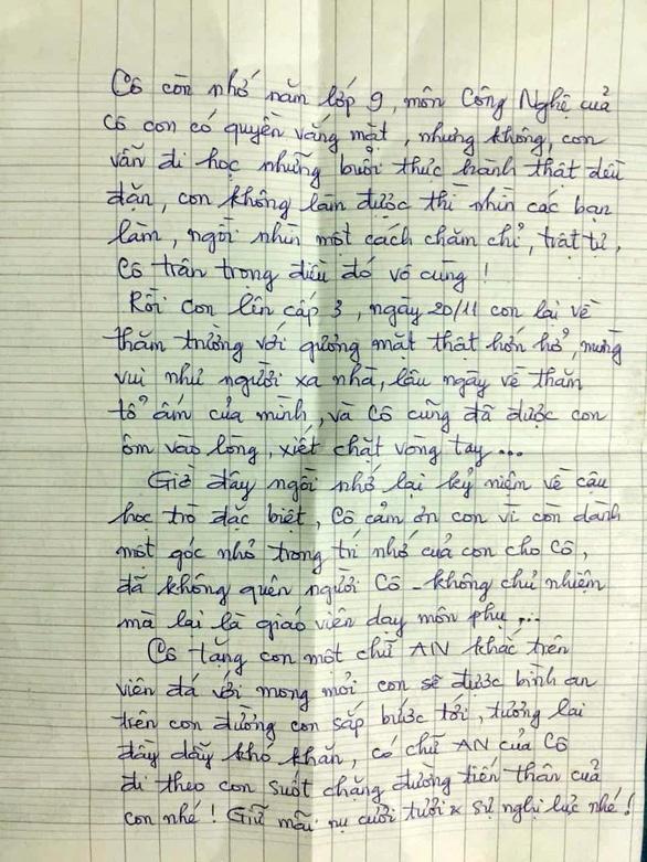 Nam sinh nước mắt nhạt nhòa ôm cô giáo cũ ngày tốt nghiệp - Ảnh 5.