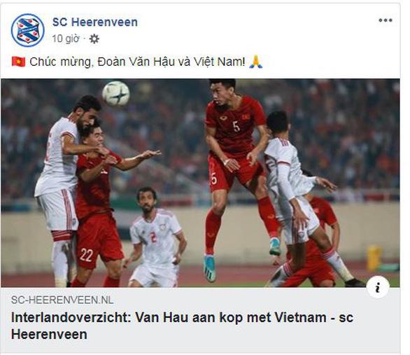 CLB Hà Lan Heerenveen: Việt Nam quá mạnh so với đội tuyển UAE - Ảnh 1.