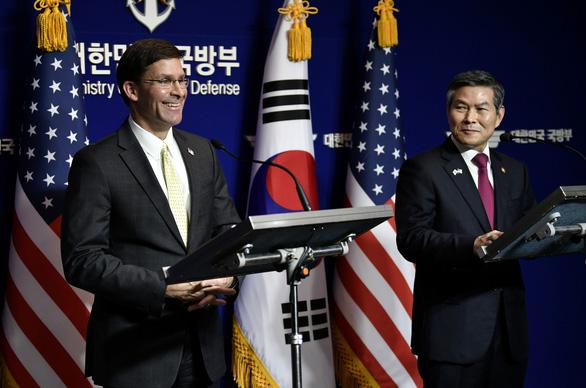 Bộ trưởng Quốc phòng Mỹ: Hàn Quốc là nước giàu, nên trả thêm tiền duy trì lính Mỹ - Ảnh 1.