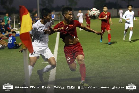 U22 Việt Nam hòa Myanmar 2-2 trước khi dự SEA Games 2019 - Ảnh 3.