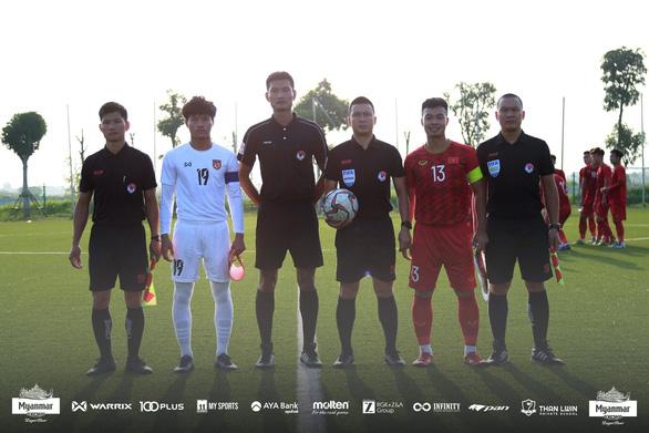 U22 Việt Nam hòa Myanmar 2-2 trước khi dự SEA Games 2019 - Ảnh 2.