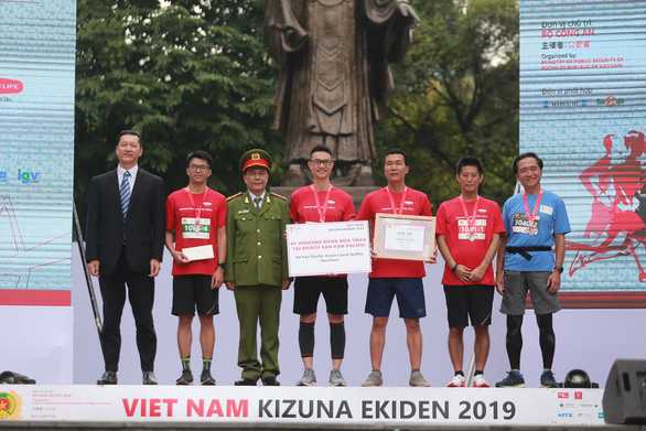 Giải chạy Kizuna Ekiden 2019: Ngày hội thể thao gắn kết tình hữu nghị - Ảnh 4.