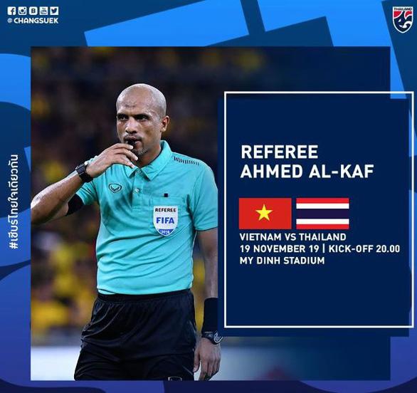 Trọng tài đẹp trai Ahmed Al-Kaf sẽ cầm còi trận Việt Nam - Thái Lan - Ảnh 1.