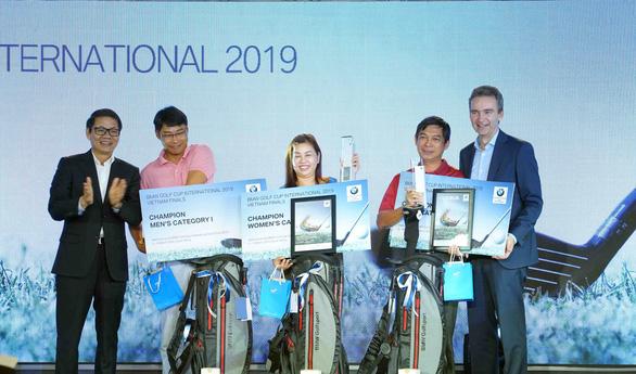 Ba tay golf nghiệp dư Việt Nam tham dự Giải thế giới - Ảnh 1.