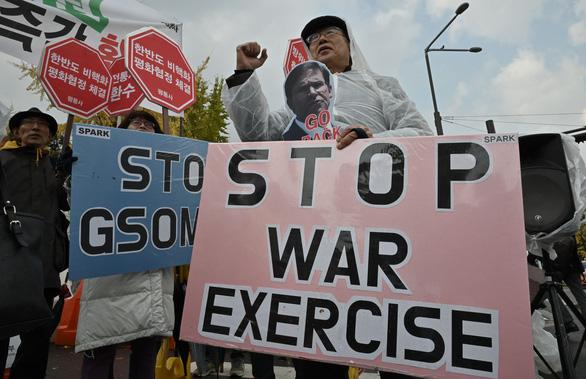 Mỹ, Hàn hủy tập trận do Triều Tiên tập trung máy bay chiến đấu? - Ảnh 1.