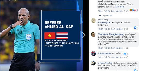 CĐV Thái: Thôi rồi, fan Việt khen ổng là trọng tài đẹp trai - Ảnh 1.