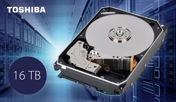 Toshiba công bố ổ cứng dung lượng đến 16TB - Ảnh 1.