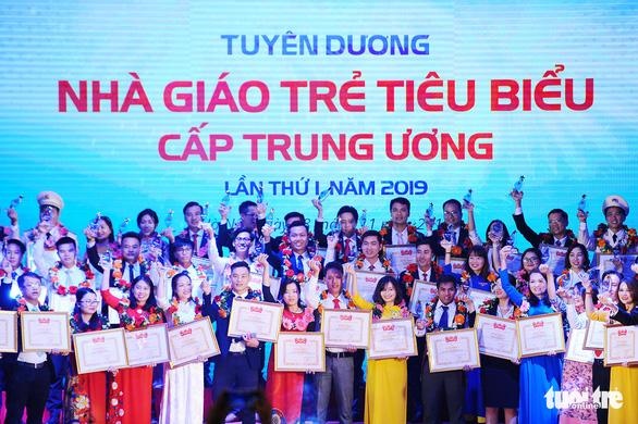 75 nhà giáo trẻ tiêu biểu nhận giải thưởng của Trung ương Đoàn - Ảnh 1.