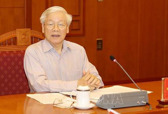 Tổng bí thư, Chủ tịch nước Nguyễn Phú Trọng chủ trì họp về phòng chống tham nhũng - Ảnh 1.