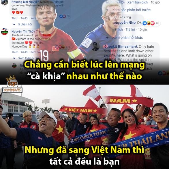 Dân mạng chế ảnh Văn Lâm, Văn Hậu cản bóng xuất thần - Ảnh 11.
